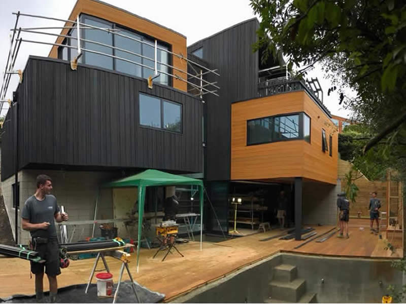 Architectural New Build - Built by Up Front Builders - Rotorua Builders